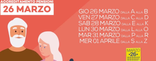 PAGAMENTO ANTICIPATO PENSIONI