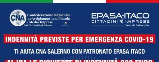 INDENNITÀ PREVISTE PER COVID19: ECCO L'ELENCO
